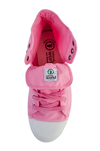 4 Natural 36 World 002 NW2 Sneaker Donna EU Pink Rosa O6O8rqt