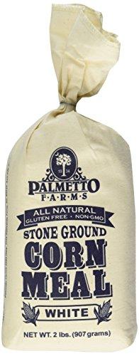 Stone Ground White Cornmeal 2 lbs