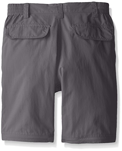White Sierra Youth Trail Convertible Pants, Castle Rock, Large
