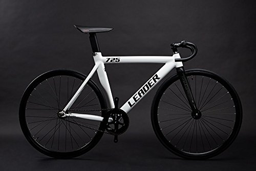 LEADER BIKES リーダーバイク 725TR 2017 Complete Bike コンプリートバイク 完成車 B01FM5TP6C XL 180cm~|ホワイト(WHITE) ホワイト(WHITE) XL 180cm~