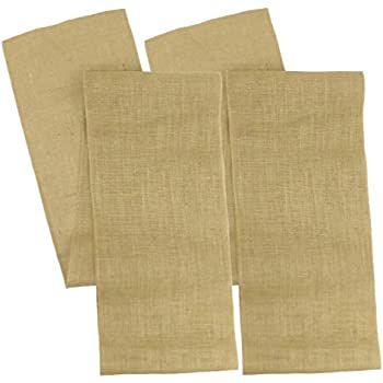 Cotton Craft   2 Pack   Jute Burlap Table Runner 12x108   Natural   Perfect  Accessory