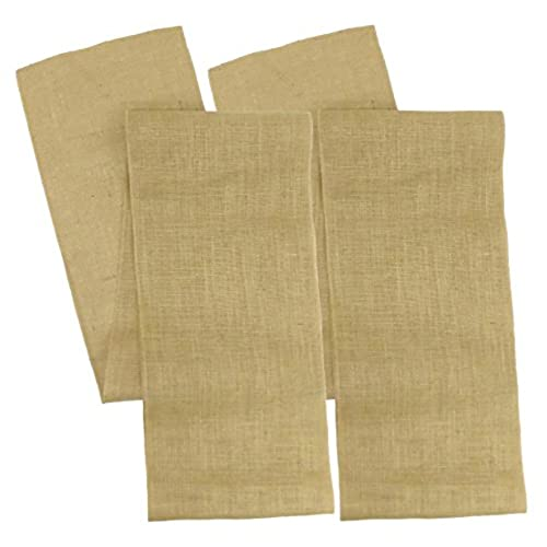 Cotton Craft   2 Pack   Jute Burlap Table Runner 12x108   Natural   Perfect  Accessory To Dress Up Your Dinner Table   Eco Friendly   Spot Clean Only