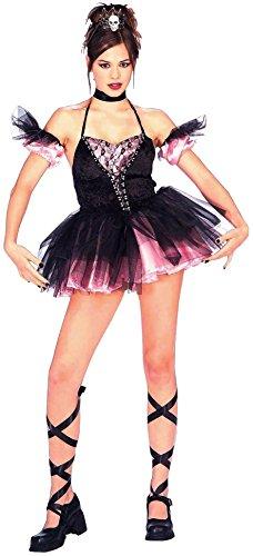 Forum Novelties Children's Costume Teenz - Dark Ballerina (Ages 14 to (Dark Ballerina Halloween Costumes)