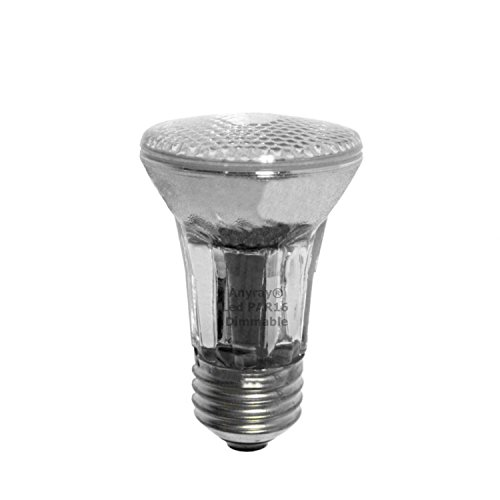 PAR16 Dimmable LED Light Bulb Medium Screw E26 5W Soft (Warm White 3000K) (Light Halogen Red 35w)