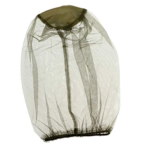Baosity Head Net Face Mesh Head Cover para Exterior Protect from Fly Screen Mosquito Mosquito Y Otras Moscas