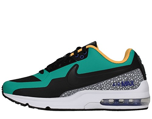 Nike [801728-038] Air Max Ltd 3 Mod Heren Sneakers Nikeblack Emrld Groen Zwart / Smaragdgroen / Koel Grijs / Zwart