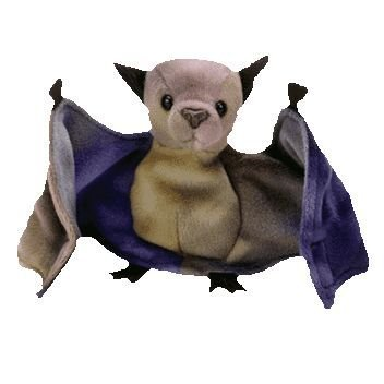 Ty Beanie Babies - Batty the Ty-Dyed Bat