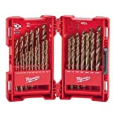 Milwaukee 48-89-2332 29 Piece Cobalt Red Helix Drill Bit Set