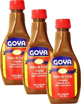 - Dulce de Leche Goya 14 oz Pack of 3