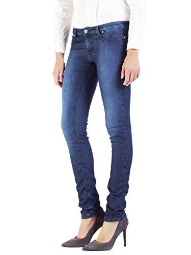 Per Lavaggio Blu Scuro Bassa Donna Carrera 7880985a Vestibilità Jeans Slim Vita 001 wvzvE