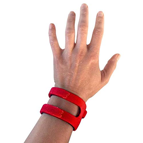 WristWidget (TM) - Patented, Adjustable Support, Wrist Brace for TFCC Tear- Triangular Fibrocartilage Injuries, Ulnar Sided Wrist Pain, Weight Bearing Strain - Left Or Right Hand - Regular RED from WristWidget