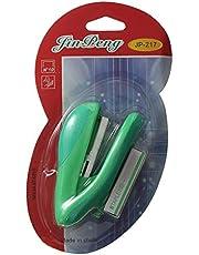 Fin Peng JP-217 Plastic Stapler and Staples - Green