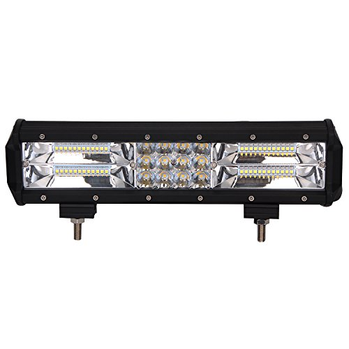 LED Light Bar, Northpole Light Triple Row 12 inch 180W Water