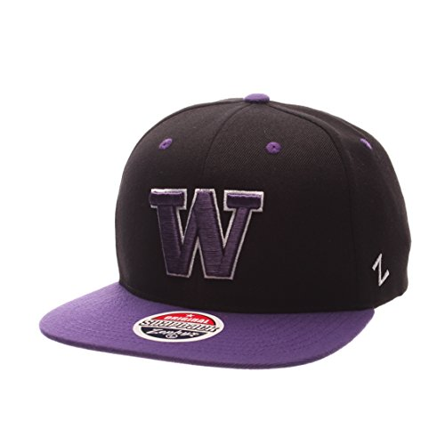 3bbbf2cc375 ZHATS NCAA Washington Huskies Men s Z11 Snapback Hat