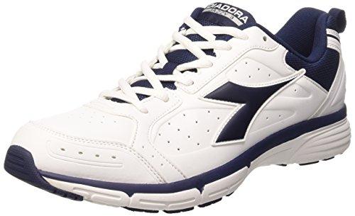Bianco Diadora Unisex Jazzy Adulto Estate SL Sneakers Blu 3 Ottico cqfZCq