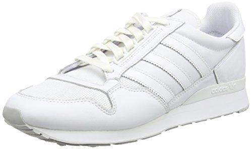 adidas Men's ZX 500 OG Trainers Ftwr Blanc/Ftwr Blanc/Lgh Solid Grey Ajnh17Al