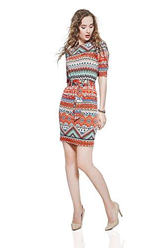 Eyelet Tube Dress - 3