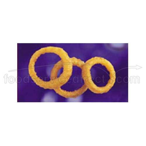 McCain Brew City Beer Battered Thick Cut Onion Ring, 2.5 Pound -- 6 per case.