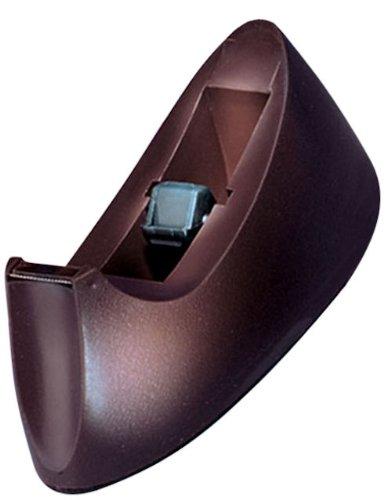 Charles Leonard Desktop Tape Dispenser, Weighted Base and Non-Slip Base, Brown (900-BN) Charles Leonard Tape Dispenser