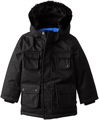 Coat Nautica Snorkle Black Anchor Boys' vtqzwtnT