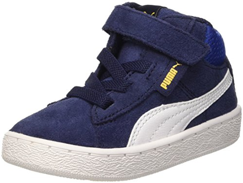 Puma 1948Mid V Inf, Sneaker da Bambini, Blu (Peacoat/Bianco), 25.5 EU (8.5 UK)