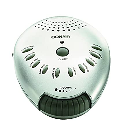 41QCyN3TLgL._SX425_ amazon com conair sound therapy sound machine health & personal care  at honlapkeszites.co