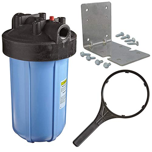 """Pentek 1"""" Threaded 10"""" Genuine Big Blue Filter Housing Kit 