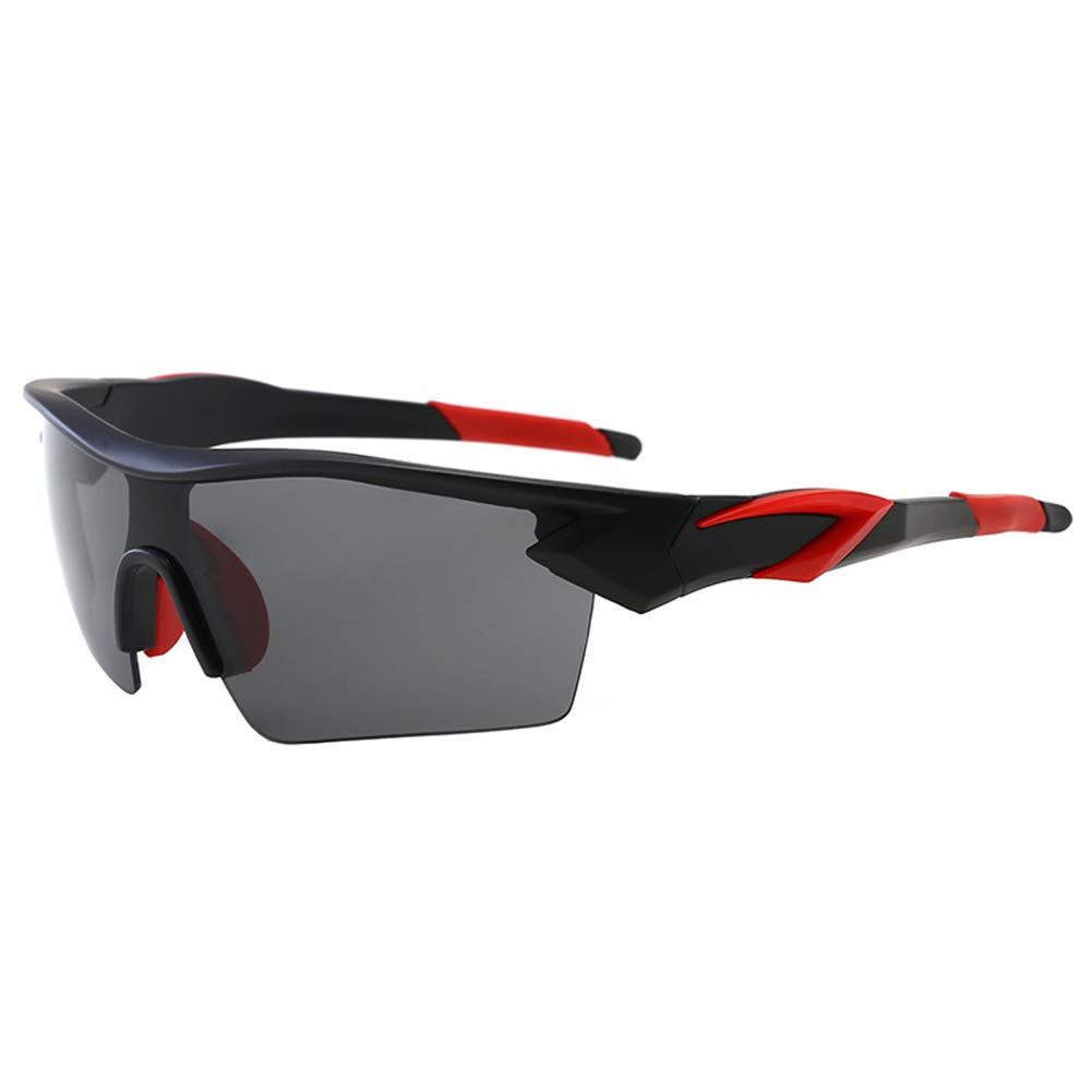 LAAT Sports Sunglasses Polarized Sun Glasses Mens Eyewear Sports Half-Rimmed Sunglasses for Outdoor Running Fishing Riding Bicycle Camping