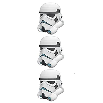 Star Wars Storm Trooper Figural Eggs Package of 3 Party Treat Containers
