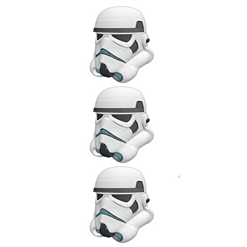 Star Wars Storm Trooper Figural Eggs Package of 3 Party Treat Containers  (Storm Package Perfect)