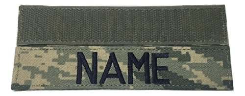 ABU Name Tape with Fastener, 1