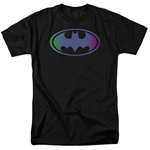 Batman Tinted Blue Logo DC Comics T Shirt (Large)