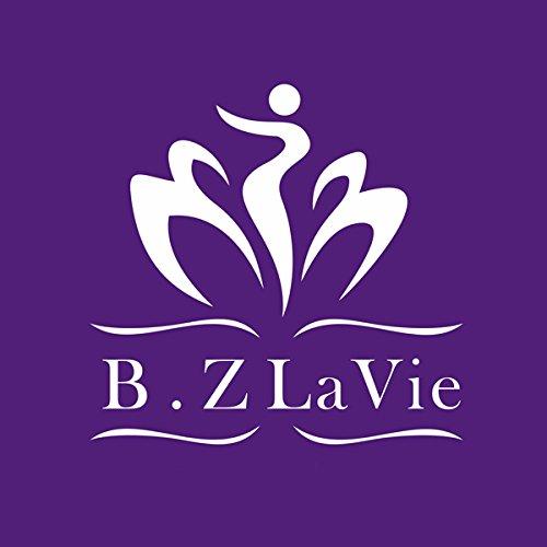 B.Z La Vie Boucle doreille Goutte deau Bleu Cubique Zircone