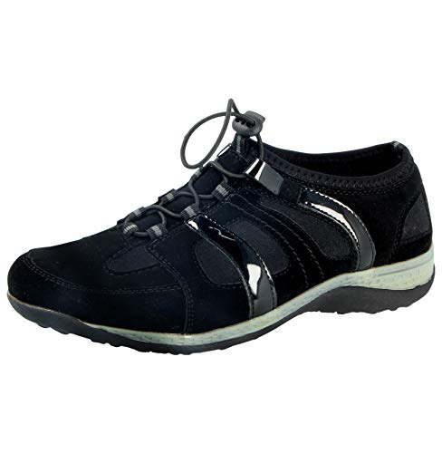 4 Walk Mesi donna Black Cushion black Sneaker 6 8tcqn7wzA