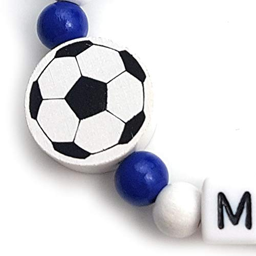 lalalo Cadena para chupete - Balón de fútbol con nombres ...
