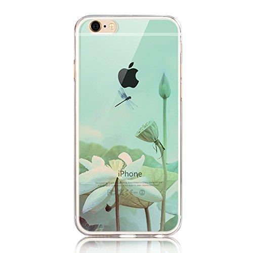 iPhone 5 Funda, Sunroyal ®TPU Ultra Transparente Carcasa Funda Suave Flexible Bumper Parachoques Silicona Extremadamente Delgada [Anti-Scratch] Resistente a los Arañazos Protectora Caja del Teléfono p A-20