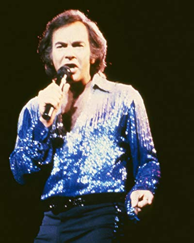 Art print POSTER CANVAS Neil Diamond in Concert