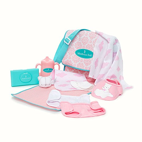 Madame Alexander Middleton Doll Newborn Diaper Bag & Accesso