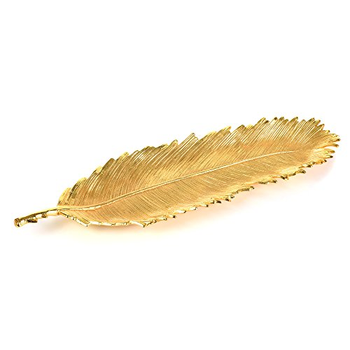 - IMPULSE! Porta Leaf Serving Dish Large Gold