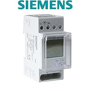 Siemens - Interruptor horario semanal TOP Digital 230V 16A 2 modulos: Amazon.es: Bricolaje y herramientas