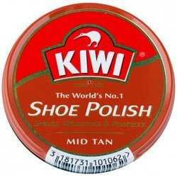 Kiwi Mid Tan Shoe Polish 32g (1-1/8 Oz.)