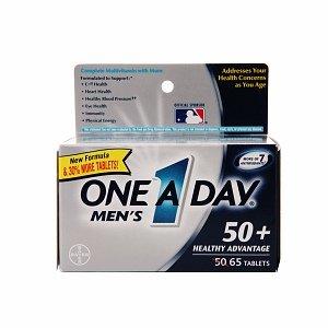 One A Day Men's Advantage 50+ Multivitamin 65 ea