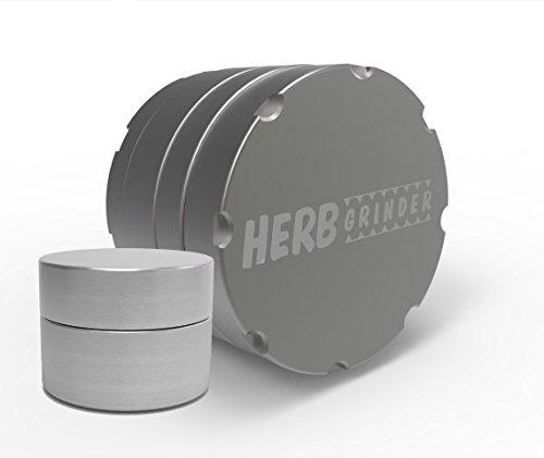 41QD-H60s6L Herb Grinder Original 2.5 inch 4-Piece Aerospace Aluminum Grinder for Herbs