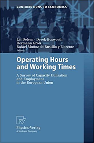 Libros descargables de Amazon para iPad Operating Hours And Working Times: A Survey Of Capacity Utilisation And Employment In The European Union