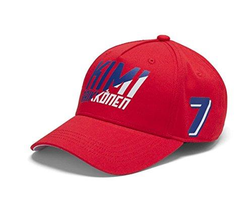 Amazon.com   Scuderia Ferrari Red Kimi Raikkonen 2018 Formula 1 Authentic  Red Baseball Hat   Sports   Outdoors 8d6ada215e41