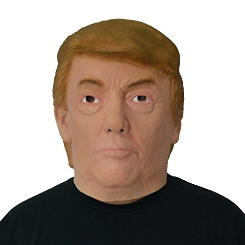 Donald Trump Mask Presidential Candidate Halloween Costume Latex Mask Adult Size (Cute Halloween Masks)