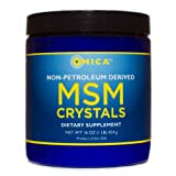 NON-Petroleum Derived MSM Crystals (16 Oz)