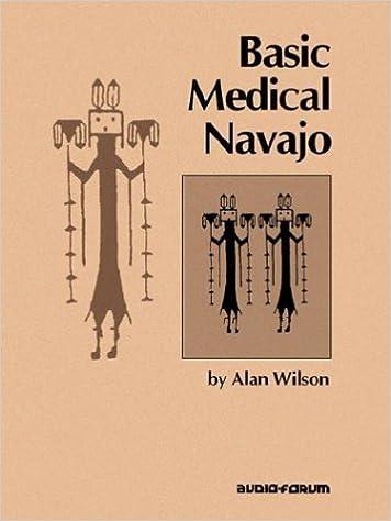 Basic Medical Navajo Alan Wilson 9780884326113 Amazon Books