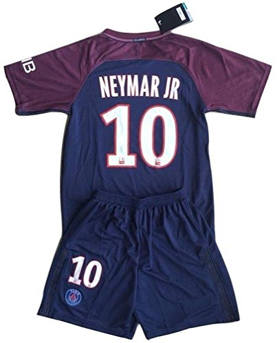 Neymar Jr 10 Paris Saint Germain Home Soccer Jersey & Shorts Youth/9-10 years/ (Short Paris)