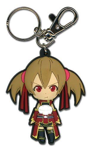 Great Eastern Entertainment Sword Art Online - Angry Silica SD PVC - Sword Keychain Pvc